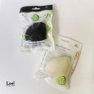 Esponjas Konjac Disponibles en Loel