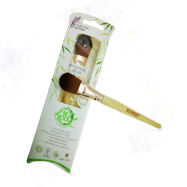 Brocha Ecológica para Base de Maquillaje So Eco