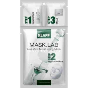 Mask Lab Aloe Vera Moisturizing Mask 3 Steps Klapp