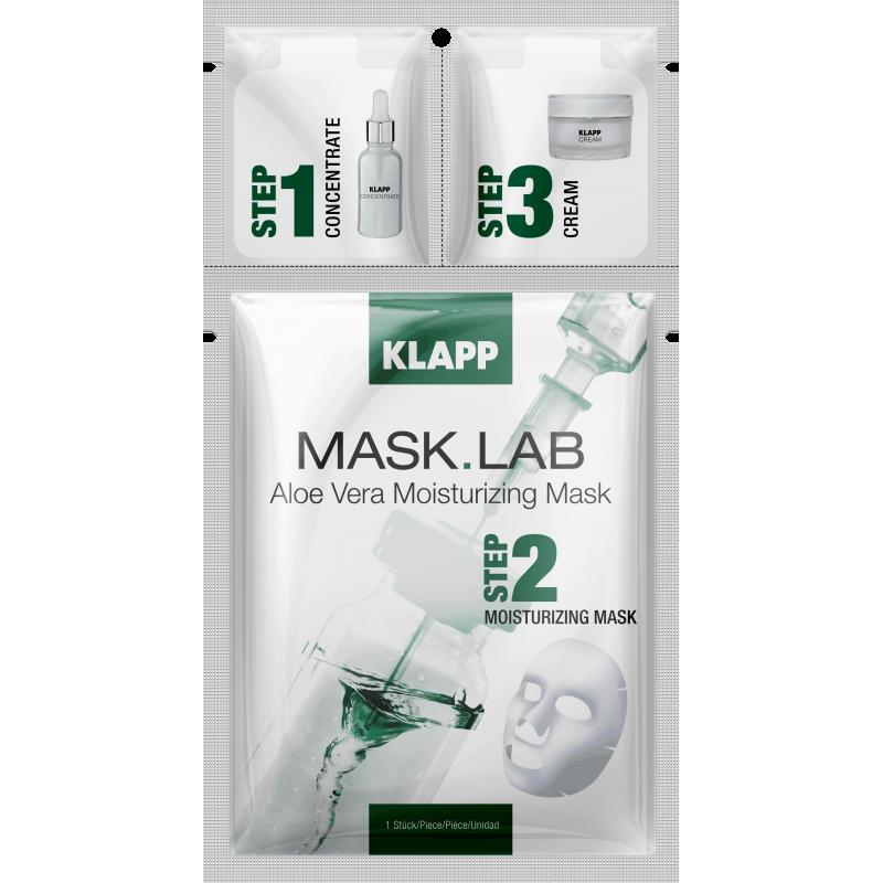 Mask Lab Aloe Vera Moisturizing Mask 3 Steps Klapp