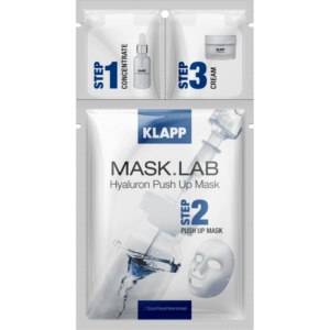 Mask Lab Hyaluron Push Up Mask 3 Steps Klapp