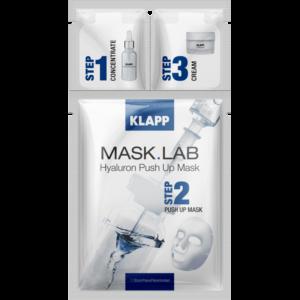 Mask Lab Hyaluron Push Up Mask 3 Steps Klapp