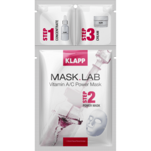 Mask Lab Vitamin A/C Mask 3 Steps Klapp
