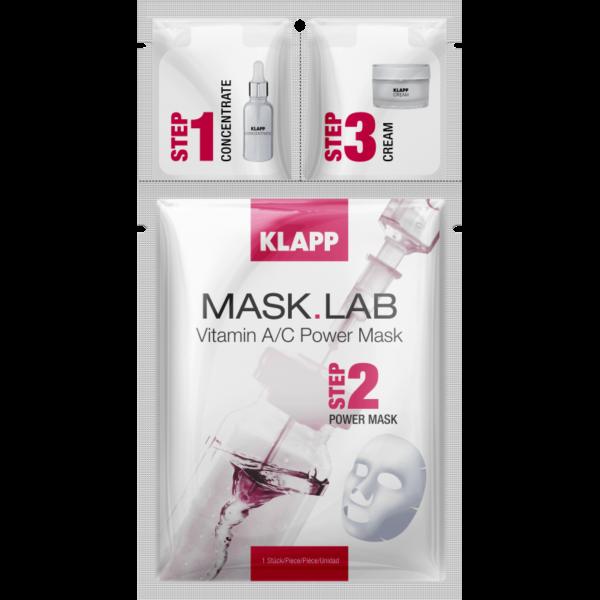 Mask Lab Vitamin A/C Mask 3 Steps Klapp