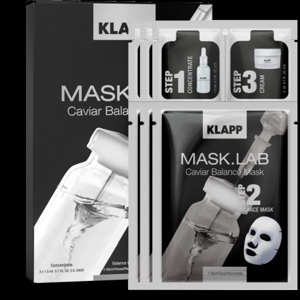 Mask Lab Caviar Balance 3 Steps Klapp
