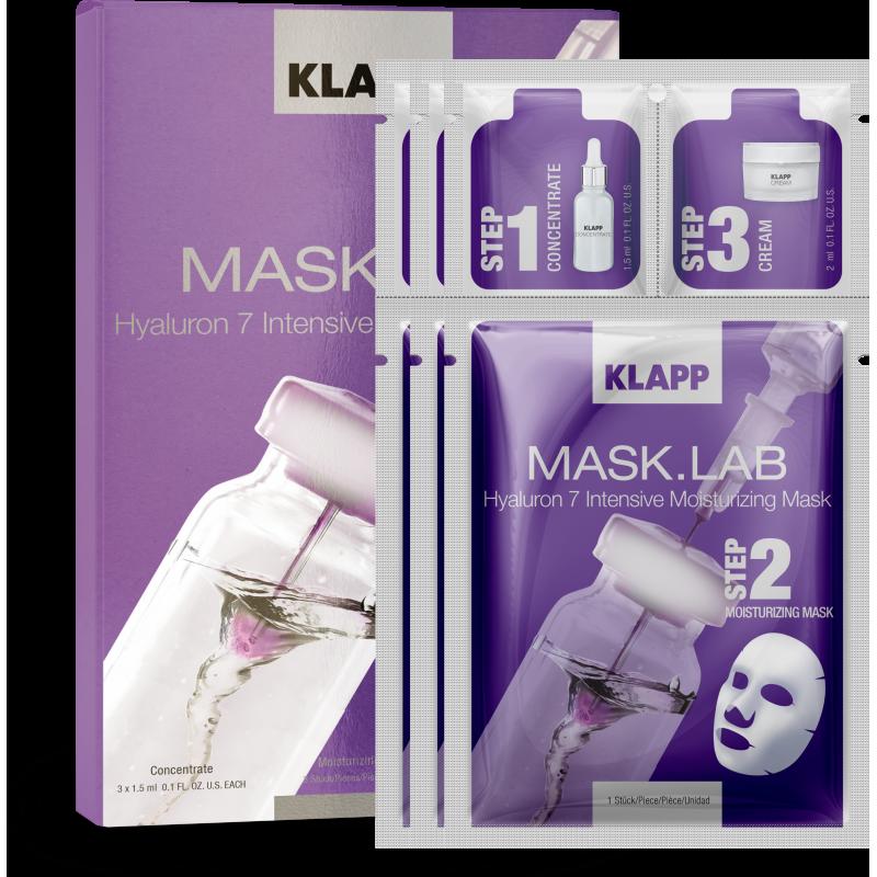 Mask Lab Hyaluron 7 Intensive Moiturizing Mask Klapp